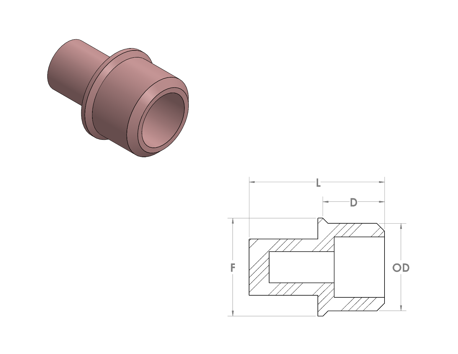 Silicone Thread Mask CAD Drawing