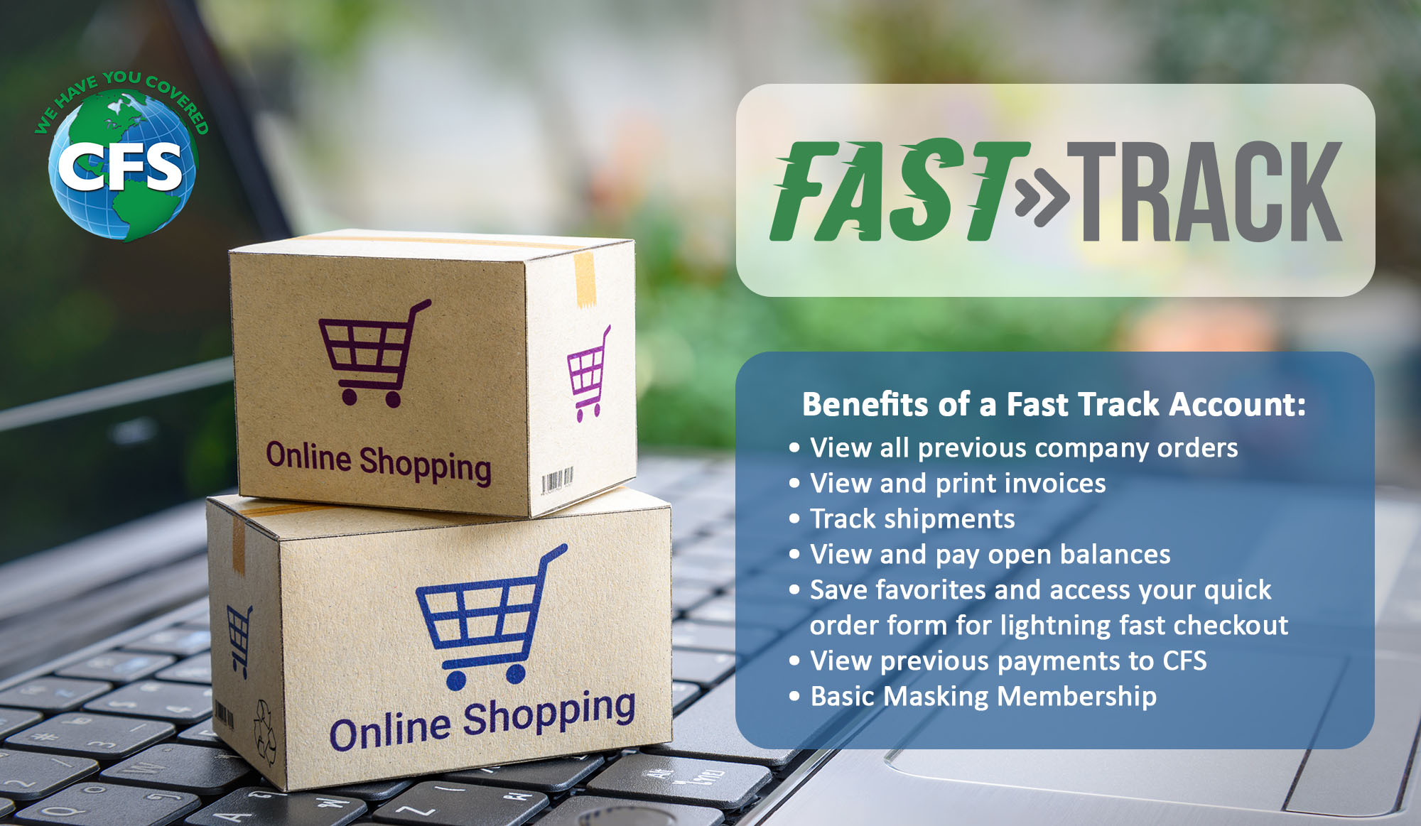 Get Your FREE Fast Track Account