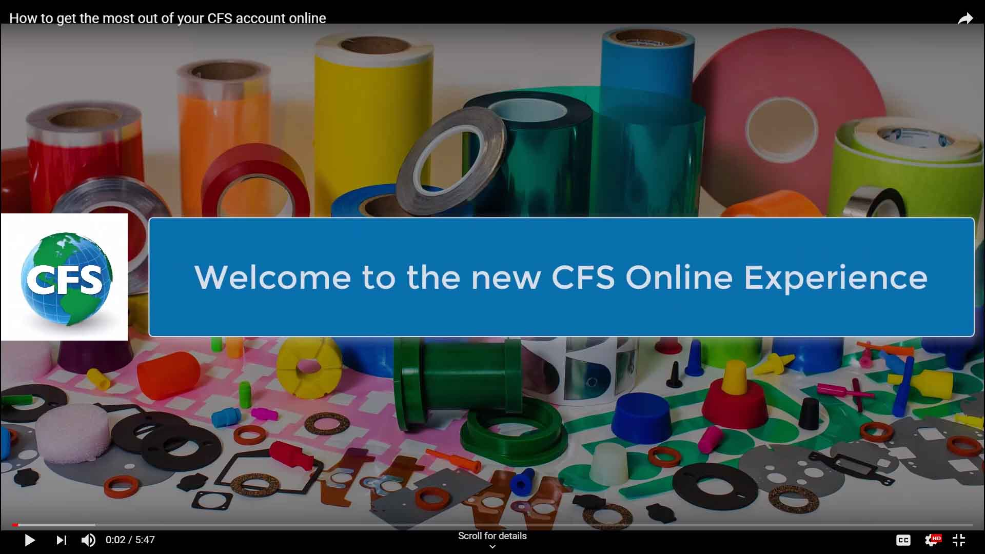 New Masking Supply E-commerce site for CFS Unveiled
