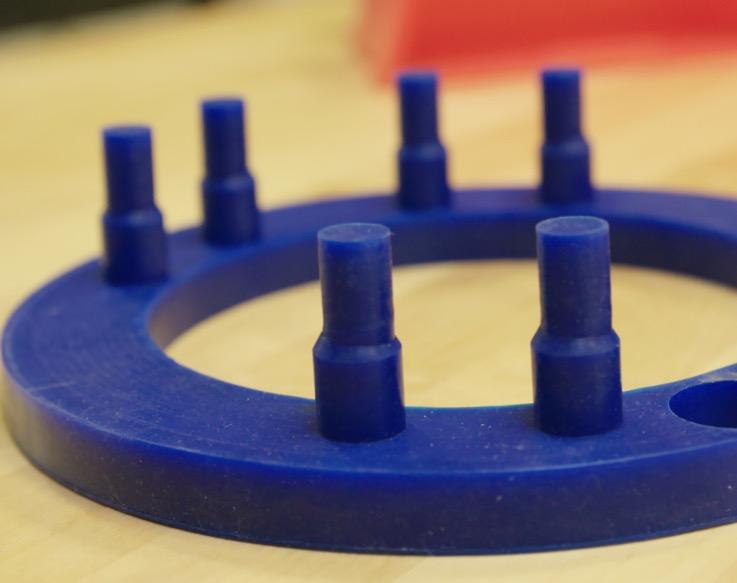 Custom Rubber Molding & Extrusion - Custom Fabricating